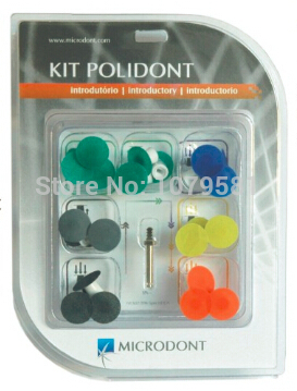 POLIDONT INTRODUCTORYKIT FOR COMPOSITE  RESIN POLISHING BETTER THAN DENTAL 3M POLISHERS