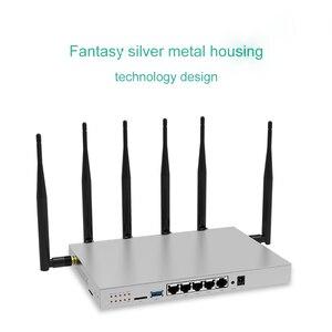 WR646 Беспроводной роутер 4G LTE роутер с сим картой слот поддержка 3G 4G модем роутер Dual Band Openwrt Wi-Fi ретранслятор 1200 Мбитс