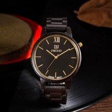 2017 Top Luxury Brand Men s Business Wooden Wrist Watch Men Relogio Quartz Movement red Sandal