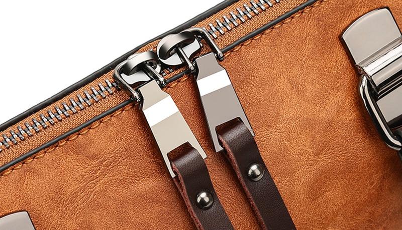 pure leather bag fashion