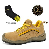 Safetoe Safety Shoes Mens Work Boots Safety Shoes Steel Toe Work Boots Fashion Leather Shoes Working
