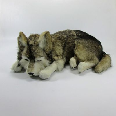 simulation cute sleeping husky 36x25x14cm model polyethylene&furs dog model home decoration props ,model gift d500 simulation cute sleeping cat 25x21cm model polyethylene