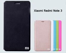 For Xiaomi redmi note 3 Pro leather cover luxury fundas flip case red mi note hongmi note 3 prime back cover free screen film
