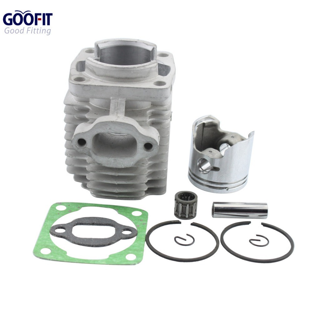 GOOFIT 40mm Cylinder Piston Kit for 47cc 2 Stroke Engine Mini Quad ATV Pocket Dirt Bike ACCESSORY Group-110