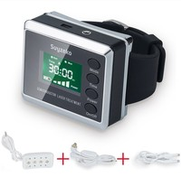 650nm & 450nm Soft Cold Laser Low Level Laser Therapy Wrist Watch Style Device Unit LLLT Red Light Therapy Unit
