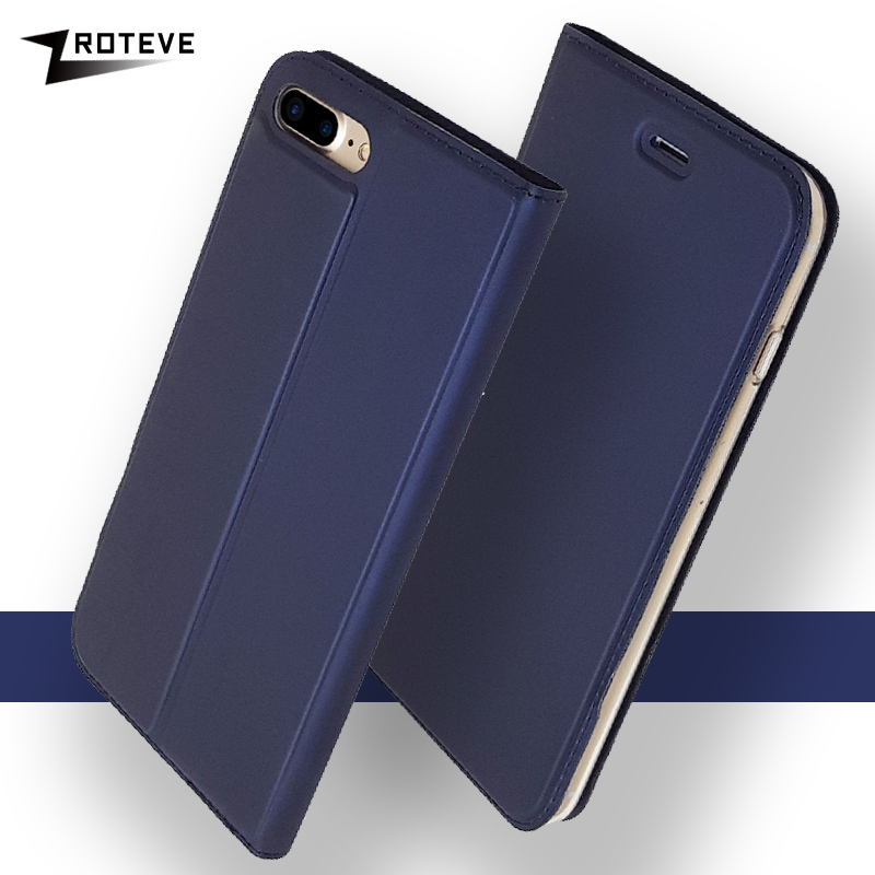 ZROTEVE PU <font><b>Leather</b></font> <font><b>Flip</b></font> <font><b>Case</b></font> For Apple <font><b>iPhone</b></font> <font><b>7</b></font> Plus <font><b>Case</b></font> <font><b>Leather</b></font> Wallet Phone Cover For <font><b>iPhone</b></font> 8 plus <font><b>Case</b></font> For iPhone7 Coque image