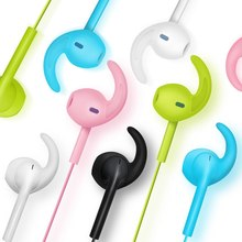 Stereo 3.5mm Jack Headset Heavy Bass Earphone Volume Control and Mic for iPhone for Android Phones