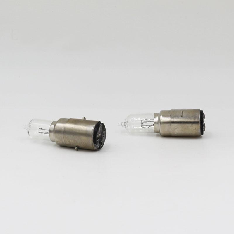 2 UNIDS ML BA20d 35/35 W Vespa Faro Halógeno Bombilla de Cristal Claro 3100 K Ac