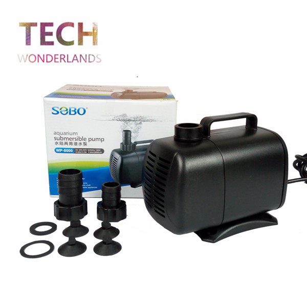 Aquarium super submersible pump fish tank water pump fish for Pool pump for koi pond