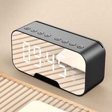 Kablosuz bluetooth Hoparlör Küçük Ev Açık Taşınabilir Para Toplama Ses Istemi çalar saat radyo hoparlör stereo hoparlör