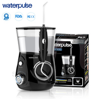 Waterpulse V660H Dental Water Flosser Oral Irrigator Dental Care Dental Flosser 5 Nozzles With Clean Massage Function Flossers