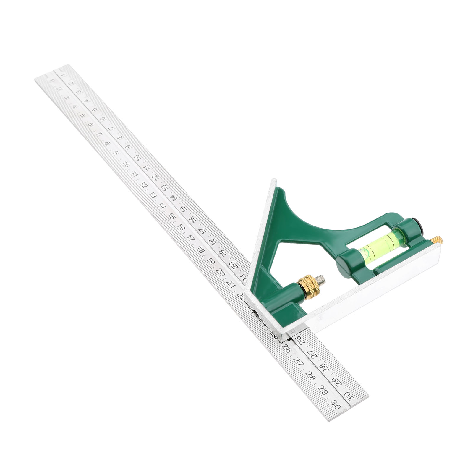 300mm Stainless Steel Combination Square Angle Ruler Multi-function Angle Ruler