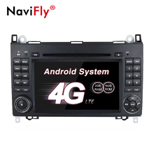 Android 7.1 4g WIFI Car dvd multimedia player radio per Mercedes/Benz Sprinter B200 Vito Viano W169 W245 w639 W209 con il GPS Navi