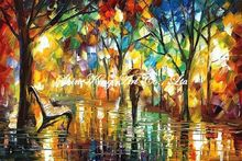 palette knife oil painting  modern oil painting canvas oil painting K309
