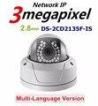 DS-2CD2135F-IS H.265 3-МЕГАПИКСЕЛЬНОЙ IP веб-камера ds-2cd2132-я купольная HD 1080 P POE заменить ds-2cd2132f-is ds-2cd2132f ds-2cd2132