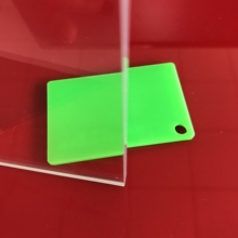 200x200x2mm 18 pieces crystal clear transparent acrylic board