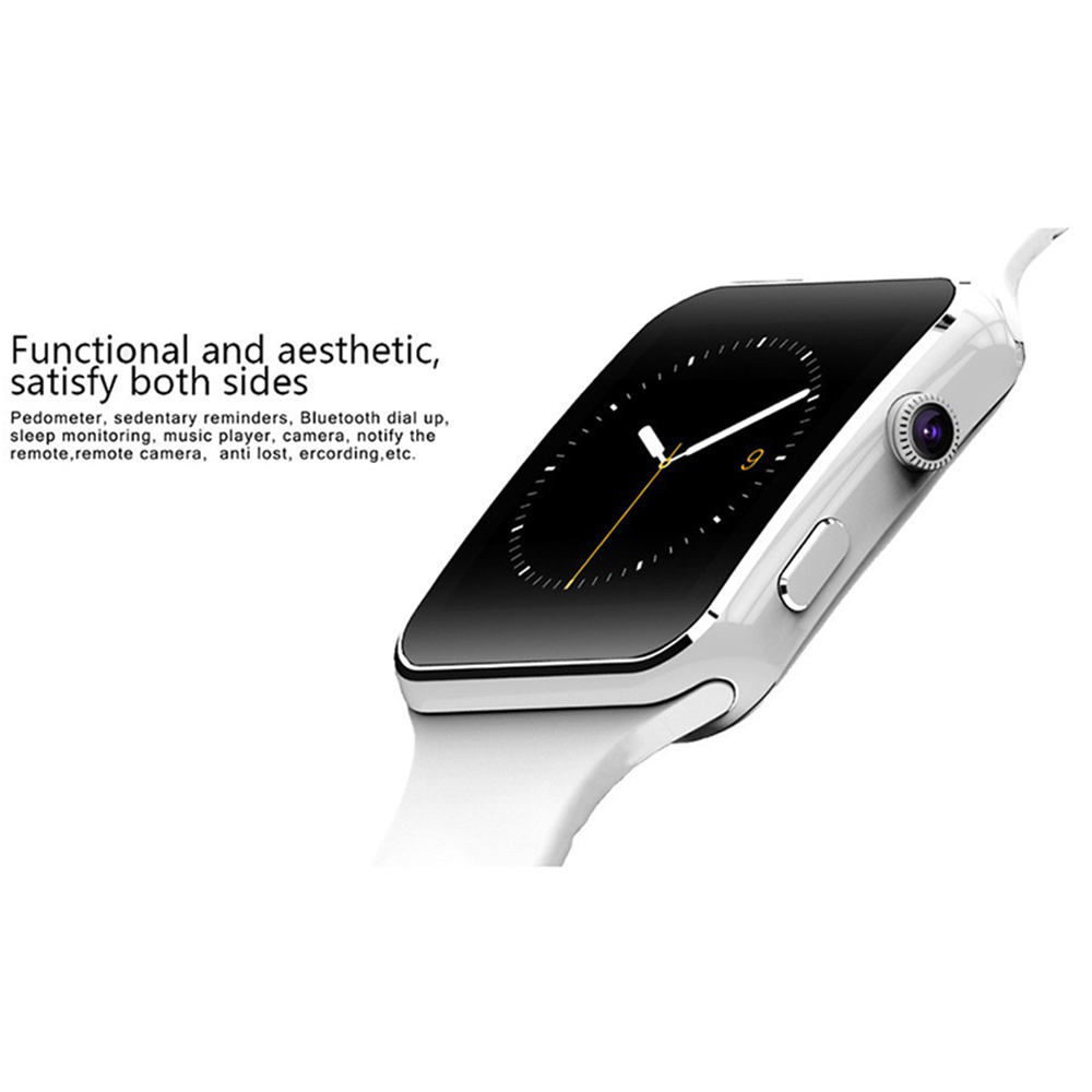 X6 Smart Watch Support SIM TF Card h Camera Smartwatch Bluetooth Dial/with Camera Touch Screen For iPhone Xiaomi Android IOS 12
