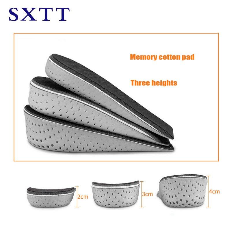 SXTT Half Insole Heighten Heel Insert Sports Shoes Pad Cushi
