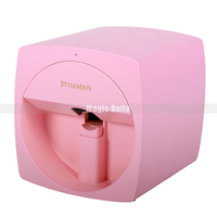 2019 Newest Fast Printing Digital Photo Nail Printer Device Multi functional Fingernail DIY Nail Art Printer With LED Lamp