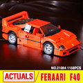 LEPIN 21004 Creator Ferrarie F40 Sports Car Model Building Blocks Kits  Bricks Toys Compatible with 10248