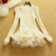 winter sweater organza knitted
