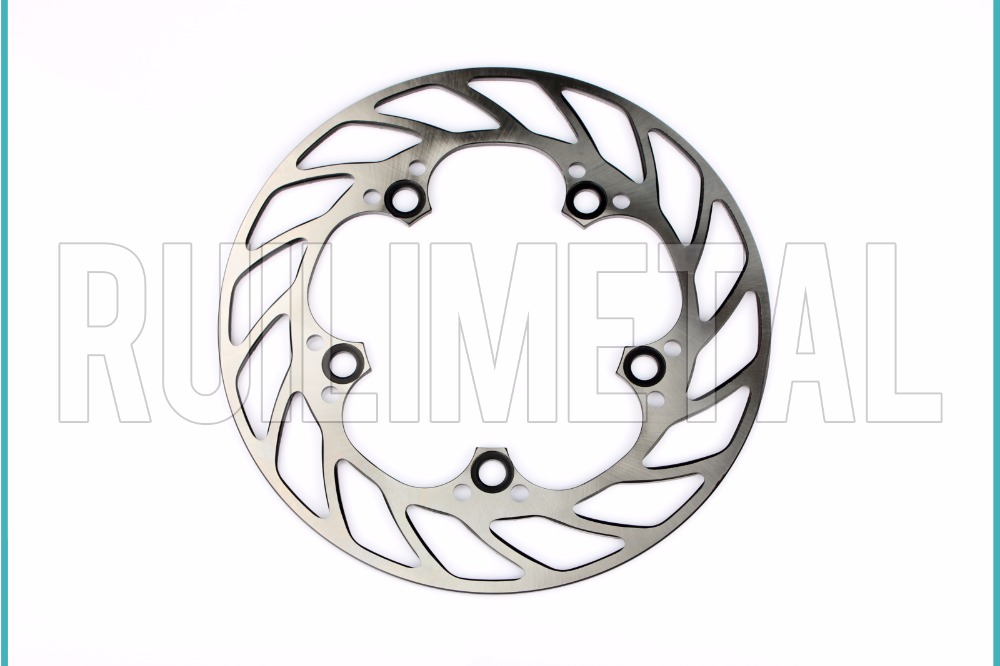 New 1pc Rear Brake Disc Rotor for YAMAHA YZF R6 YZF-R6 2003-2016 YZF R1 YZF-R1 04 05 06 07 08 09 10 11 12 13 14 2012 2013 2014 motorcycle part front rear brake disc rotor for yamaha yzf r6 2003 2004 2005 yzfr6 03 04 05 black color