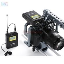 Saramonic UwMic9 Transmisor (TX9) + receptor (RX9) Sistema De Micrófono Inalámbrico UHF Broadcast para DSLR Cámara de Vídeo