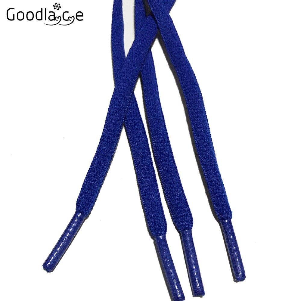 """100 см/3"""" овальные плоские шнурки Шнурки кроссовок 24 цветов для выбора"""