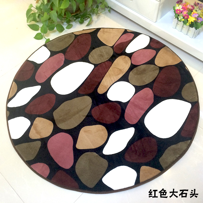 Slip-resistant Water Wash Circle Carpet Thickening Carpet Computer Chair Carpet Yoga Mats  yoga mat xl | MAT PAK Yoga Mat Bag Fits up to XL yoga mats Slip resistant Water Wash Circle Carpet Thickening Carpet Computer Chair Carpet font b Yoga b font