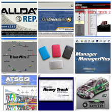 2016 Hot Sales! Alldata Auto Repair Software 10.53 All data +Mitchell on demand 2015+ ATSG +ElsaWin 5.2 1tb hdd with 8 softwares