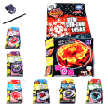 8pcs/lot 6Pcs=7 pcs Beyblade +1 pcs Launcher  METAL FIGHT BEYBLADE BB74 BB55 BB50 WITH STICKER TOOL