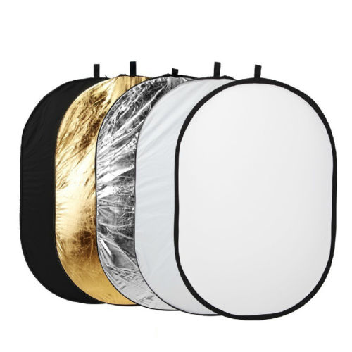 100 X150cm 5-in-1 Oval Studio Light Multi Collapsible Photo Reflector for Photography Outdoor Light Board аксессуары для фотостудий oem 32 80 7 1 multi light reflector