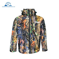 Hunting Jackets Waterproof Camouflage Hoodie Men's Army Military Outdoor Soft Shell Tactical Jacket Military Camo Army Clothing