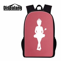 Dispalang Brand Children Backpack In Primary School Backpacks Ballet Violin Prints Elementary Student Book Bag Tourism