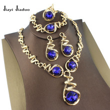 jiayijiaduo African beads jewelry set