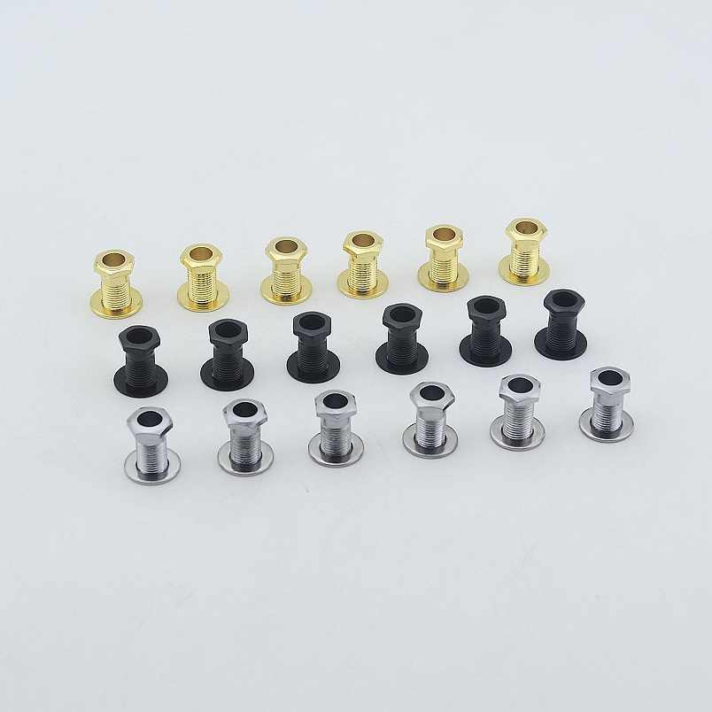 1 Set ( 6Pieces ) Guitar Machine Heads Tuners  Nuts/ Bushings/Ferrules and Washers  MADE IN KOREA