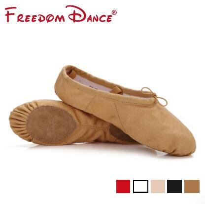 6da1433b4e517b Femmes Professionnel Ballet Plat Chaussures De Danse Pantoufles Toile  Souple Gym Danse Chaussures Filles Fitness Chaussures De Danse Sneakers 5  Couleurs ...