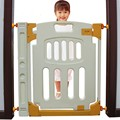 72 см пластиковые Кролик ребенок ворота ребенка лестницы забор pet запорный вентиль забор