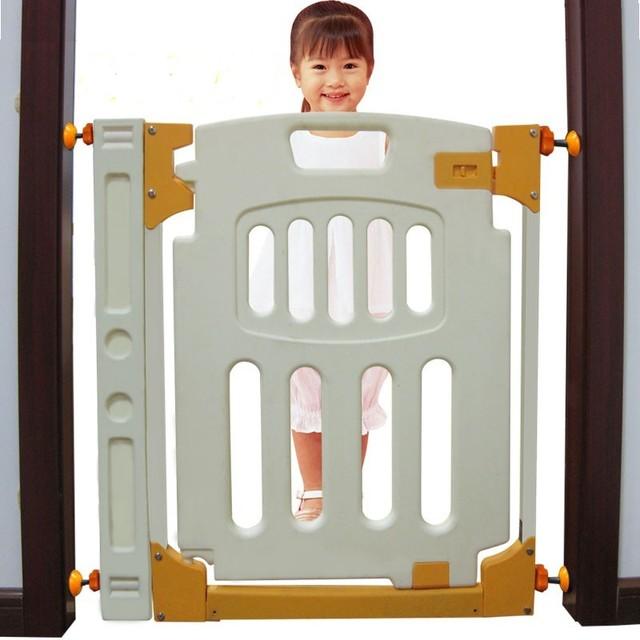 72 cm Conejo de plástico válvula de aislamiento mascota valla puerta de niño del bebé cerca de la escalera