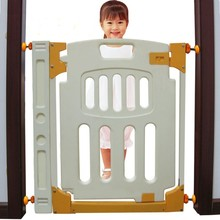 72cm plastic Rabbit child gate baby stair fence pet isolating valve fence
