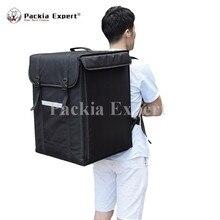 Коробка пиццы, большая сумка для доставки пиццы с sidepoket общественного питания перевозчик, рюкзак, 2-сторонняя молния Застежка PHSB-393956