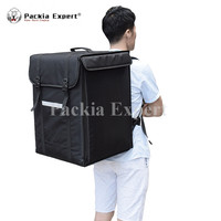 Pizza Delivery Box, Big Pizza Delivery Bag with sidepoket Catering Carrier, Backpack 2 Way Zipper Closure PHSB 393956