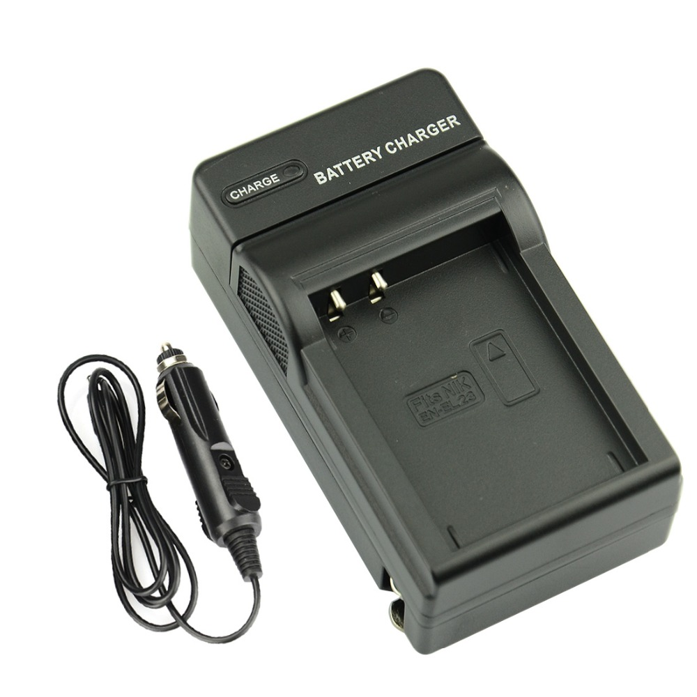 DSTE DC152 Wall Charger for NIKON EN-EL23 Rechargeable Li-ion Battery COOLPIX P600 S810c B700 DSLR Camera