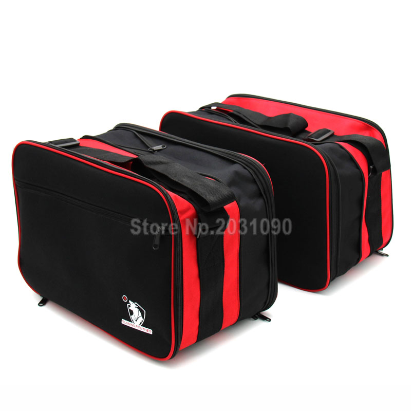 For Pannier Liner BMW R1200R R1200RT K1200GT K1300GT Motorcycle Luggage Bags Black Expandable Inner Bags