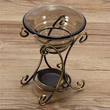 Recién llegado, quemador de incienso Vintage con plato de vidrio para velas, difusor de aromaterapia, humidificador de aire, barra de calentador de aceite