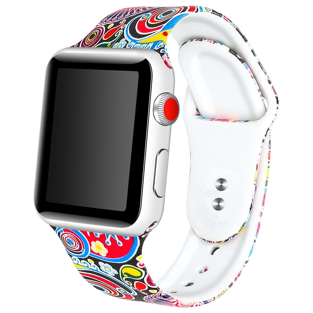 8 Colors Soft Silicone Watchband For Apple Watch Series 1 2 3 4 Wrist Bracelet Strap iWatch 38mm 42mm 40mm 44mm Replacement Band8 Colors Soft Silicone Watchband For Apple Watch Series 1 2 3 4 Wrist Bracelet Strap iWatch 38mm 42mm 40mm 44mm Replacement Band