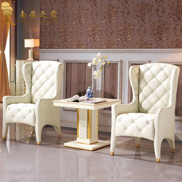 Italian high quality design home furniture loving room chair with