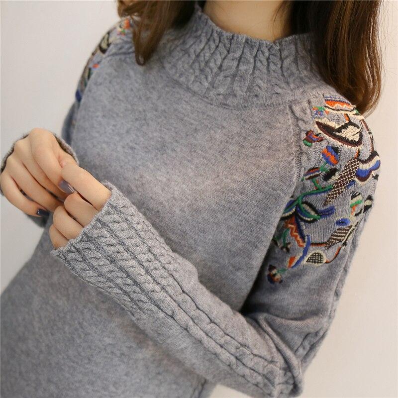 Suéteres Suelto Sexy Cuello b Suéter w De Elástico Alto k Volantes 2018 Mujer Sólido G Las Manga Y Mujeres jiaotang Coreana Moda 6PfqXw