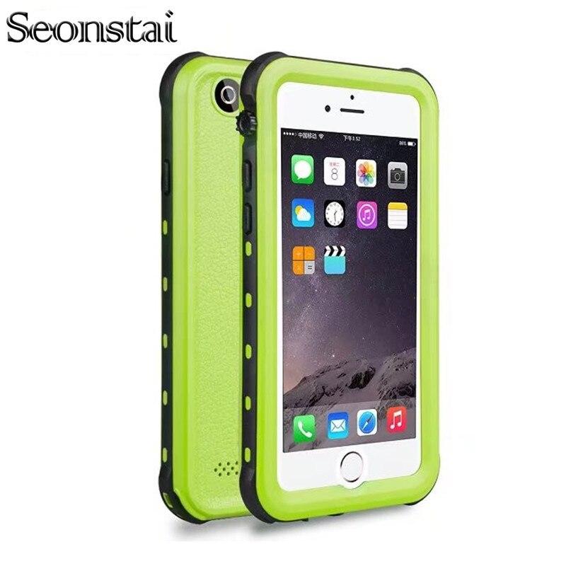 For i5 Fingerprint Waterproof IP68 Underwater Life Water Proof Shockproof Hard Case for iPhone 5s SE