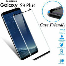 Case Friendly Tempered Glass Screen Protector for samsung galaxy S9 3D Full Cover for Samsung Galaxy S9 Plus protective Film protective glass red line for samsung galaxy s9 full screen 3d black